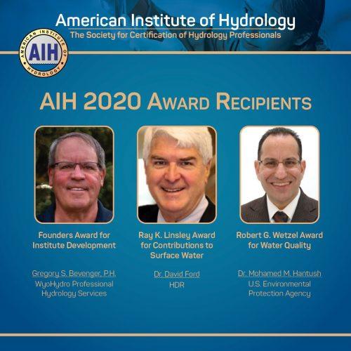 AIH 2020 Award Recipients